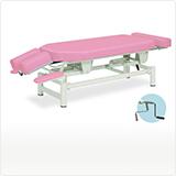 ヘッド角度調節機能付き昇降ベッド